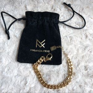Miranda Frye Gold Melissa Chain Bracelet